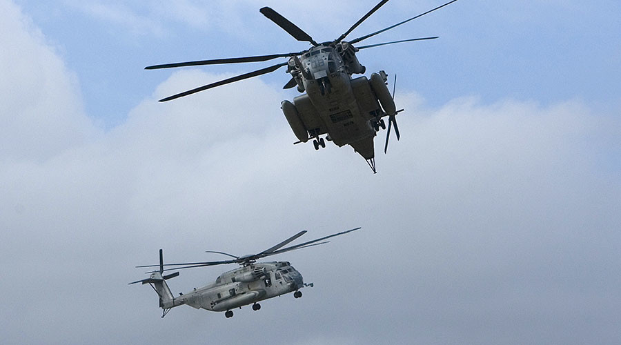 12 feared dead in military helicopter collision off Hawaii coast