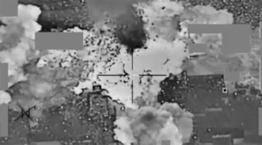 'A good strike': New Pentagon video shows US bombing ISIS cash depot