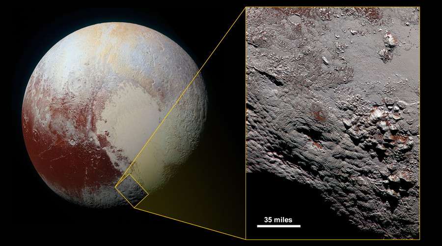 High-res NASA image shows 150km-wide potential 'cryovolcano' on Pluto