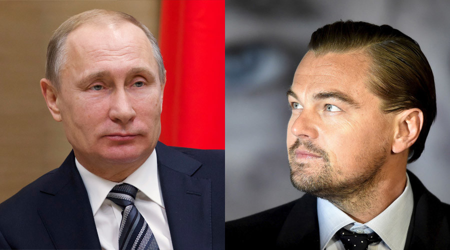 DiCaprio would like to star as Putin