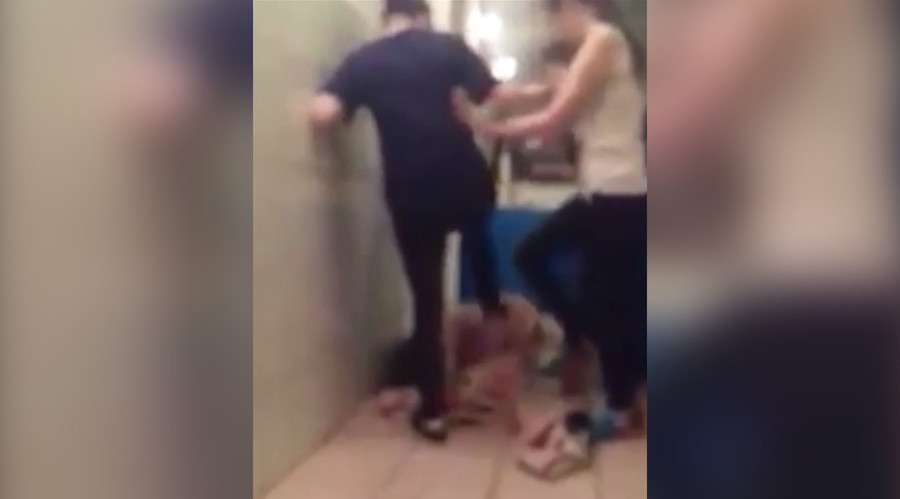'She'll kick you to death': Teens brutally beat up 16yo in Russia 'for lice' while filming attack