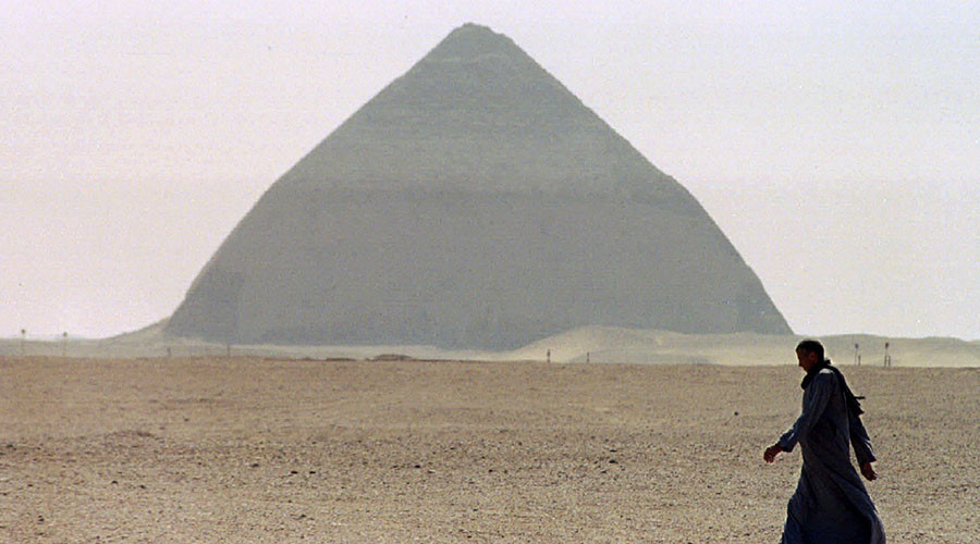 Space particles inside Egyptian pyramids may hold key to their creation