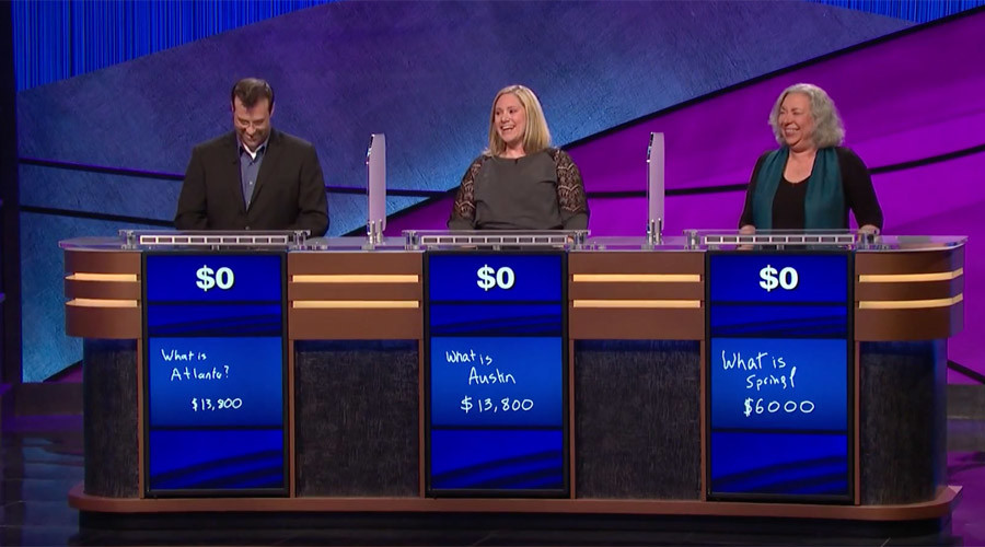 Final Jeopardy question wipes out all contestants' prize money (VIDEO)