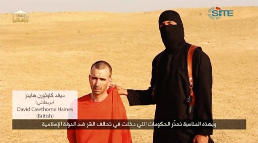 ISIS confirms 'Jihadi John' is dead