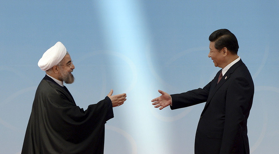 China wades into the Iran-Saudi swamp