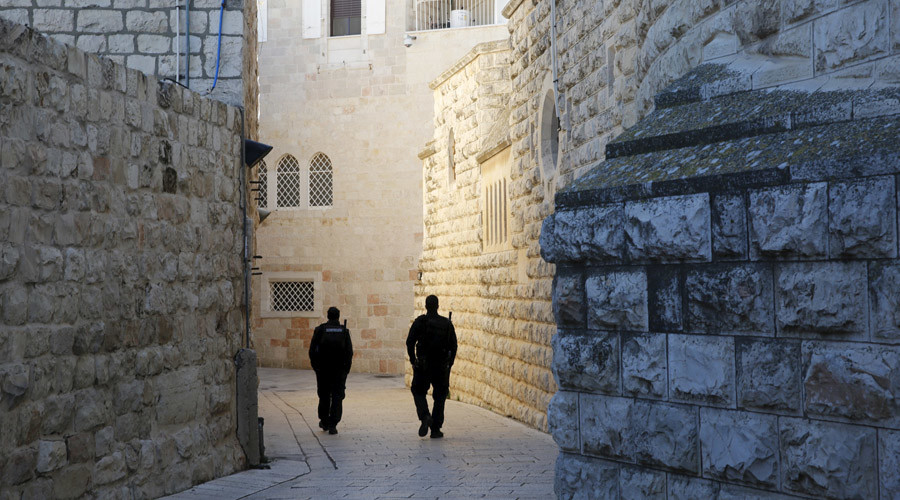 Two Jewish teens arrested for scrawling anti-Christian graffiti on Jerusalem monastery