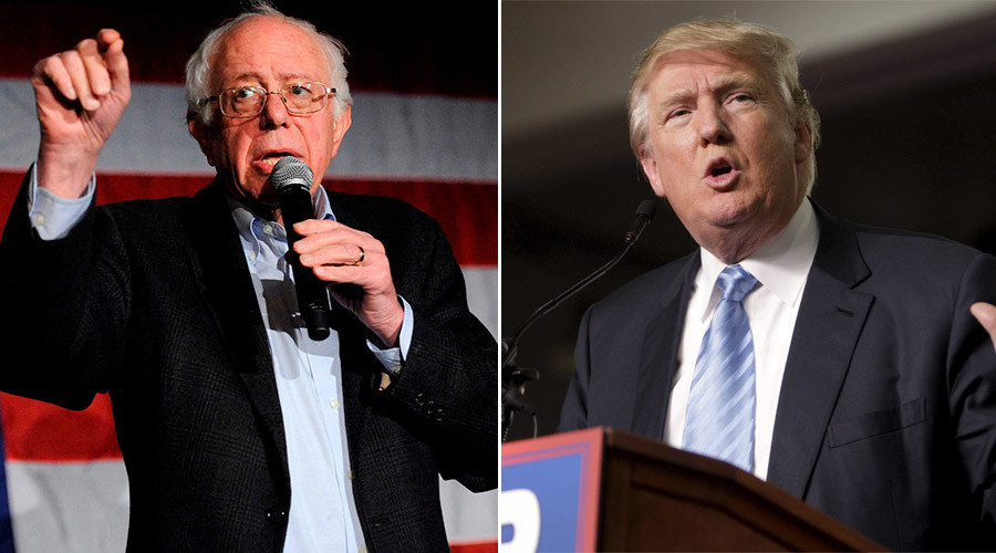 Outsiders are in: Donald Trump, Bernie Sanders lead in latest Iowa poll