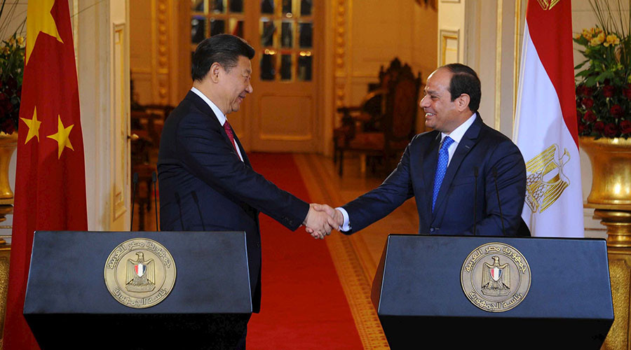 China to invest $15bn in Egypt