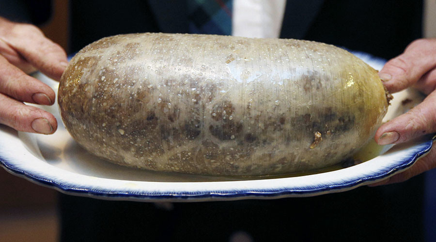 Haute haggis: £4,000 for sheep stomach stuffed with gold & wagyu beef