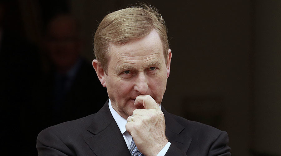 Austerity pushback: Protests at Irish ruling party convention
