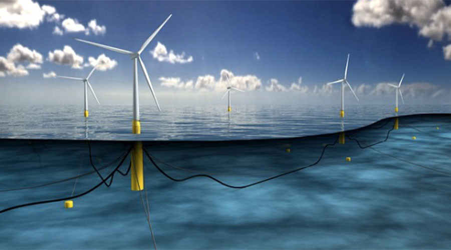World's first floating windfarm drives job creation in Scotland