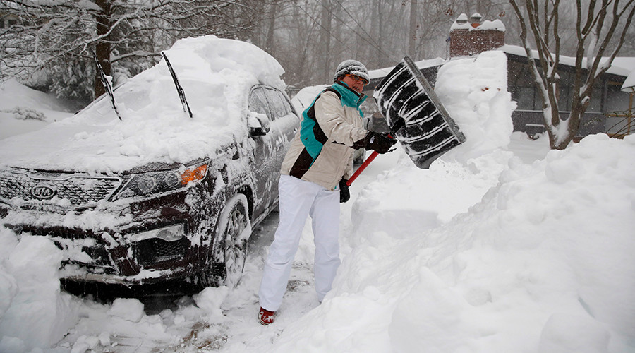 Time to dig out: Huge snowstorm comes to end leaving at least 25 dead on US East Coast