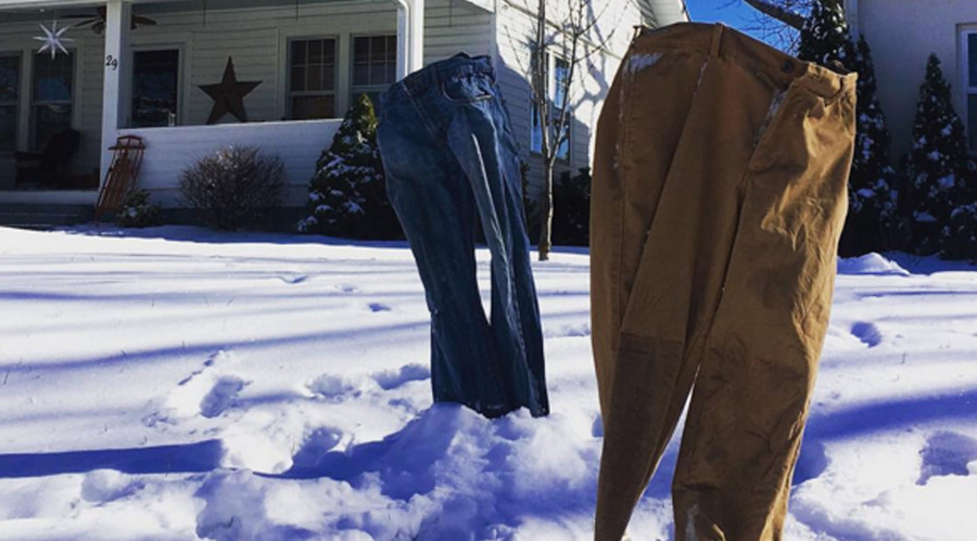 #FrozenPants: Blizzard season spawns hot trend (PHOTOS)