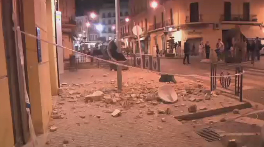 Streets littered with rubble as 6.1 quake strikes off coasts of Spain, Morocco (VIDEO)