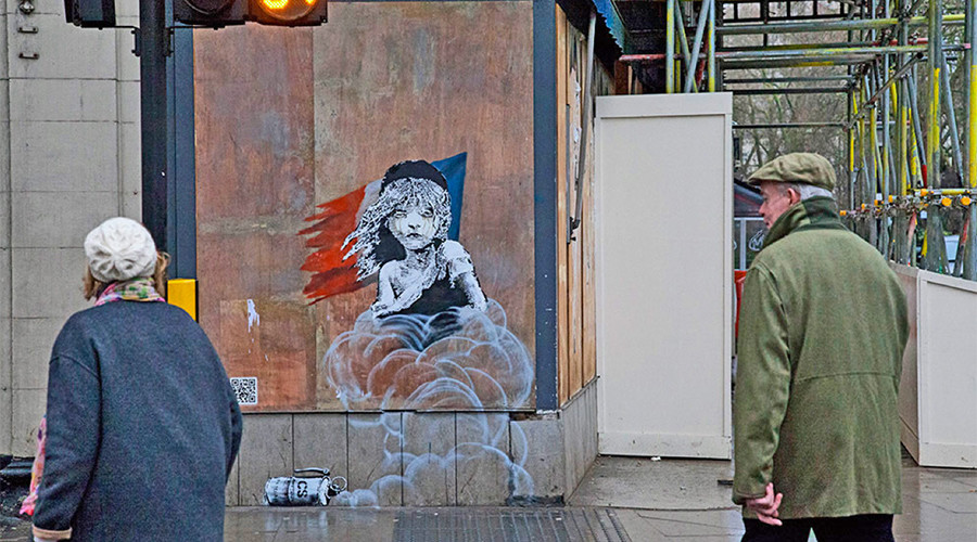 New Banksy mural targets Calais police brutality amid calls to aid refugees