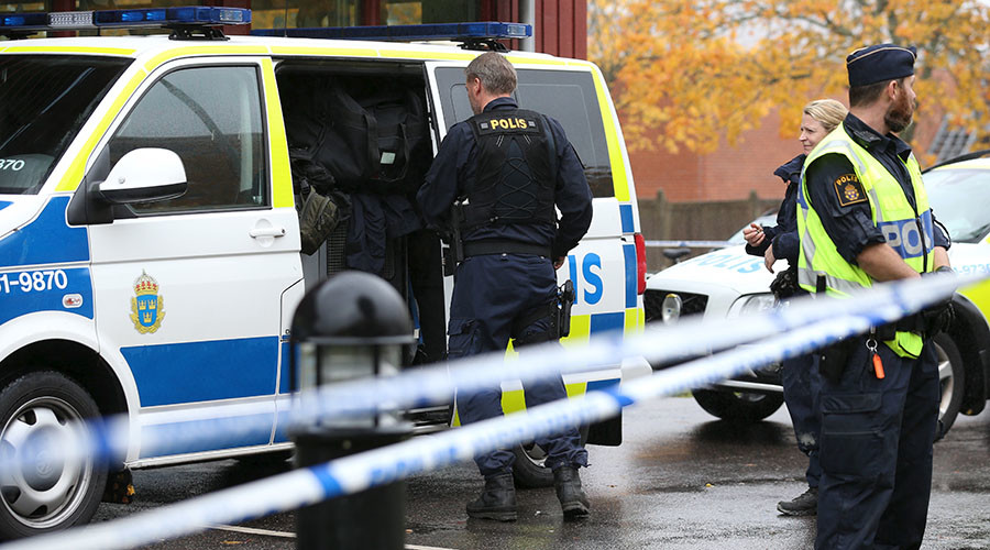 'Powerful pyrotechnics': Explosion rocks central Stockholm