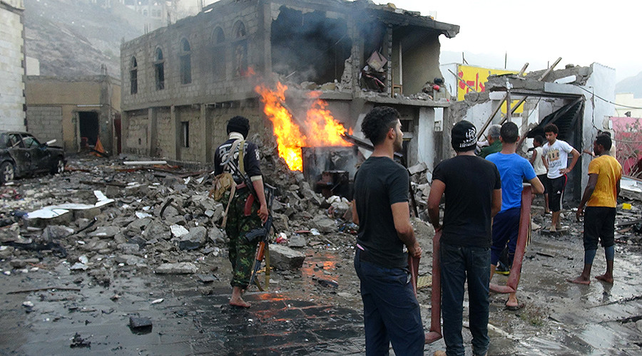 7 killed, 10 injured in powerful blast outside presidential residence in Aden, Yemen
