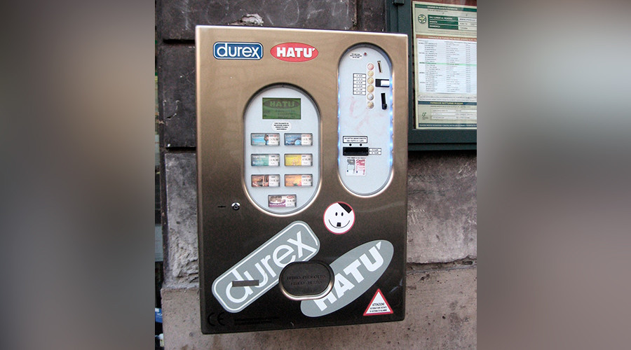 Sober sex only: Condom machine decides whether you're too drunk for lovin'