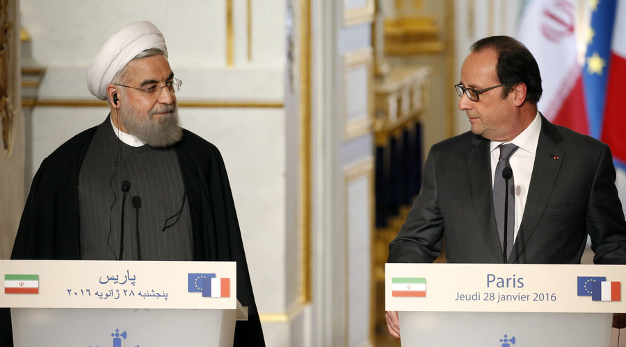 Iran to purchase 118 Airbus planes & set up joint venture with PSA Peugeot Citroen