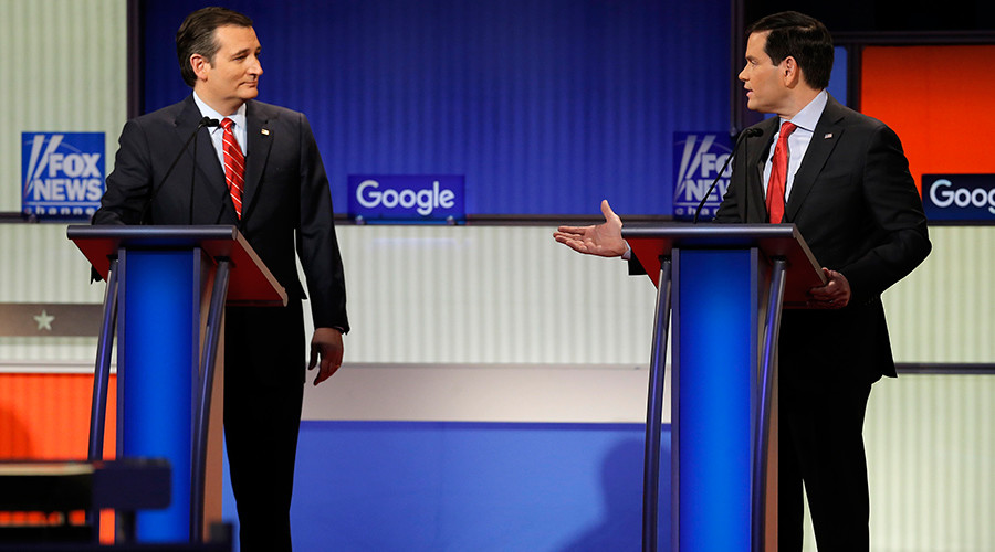 Trumpless in Des Moines: GOP debate focused on… issues (oh, and Trump)