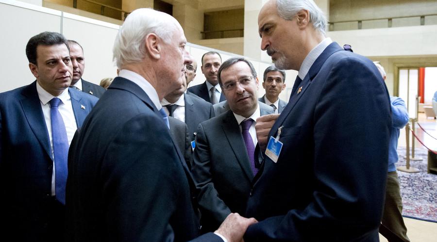 Lavrov, Kerry hold last-minute phone call ahead of Syria peace talks in Geneva