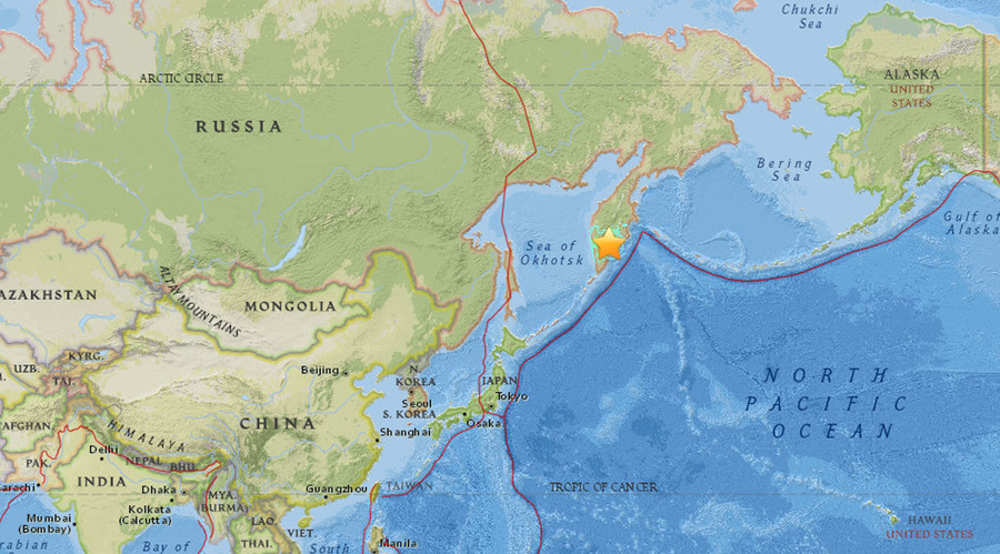 7.3 quake & multiple aftershocks strike Russia's far eastern Kamchatka Region