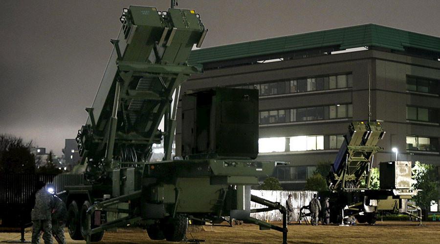 Japan sets up anti-air missiles in Tokyo to boost defense against N. Korea