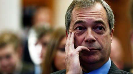 The leader of the United Kingdom Independence Party (UKIP), Nigel Farage © Stefan Wermuth