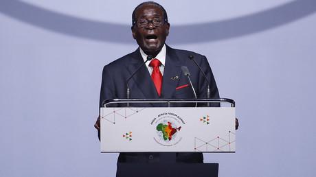Zimbabwe's President Robert Mugabe © Adnan Abidi