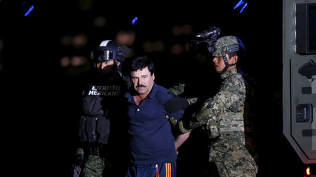 Mexican drug lord 'El Chapo' caught because he wanted to make biopic – authorities