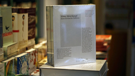 Copies of the book 'Hitler, Mein Kampf. A Critical Edition' are displayed in a bookshop in Munich, Germany January 8, 2016. © Michael Dalde