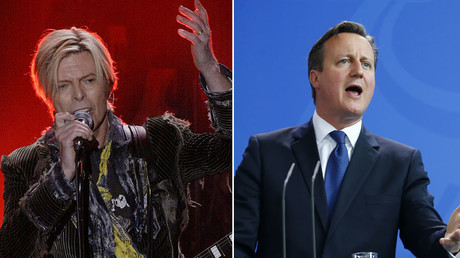 'David Cameron is dead': Radio presenter confuses PM with Bowie in live gaffe