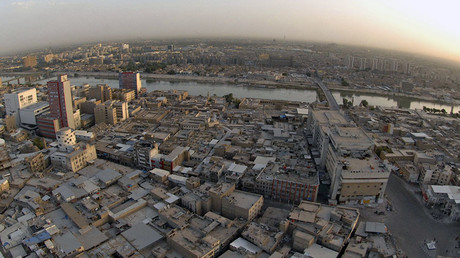 An aerial view of central Baghdad. © Reuters