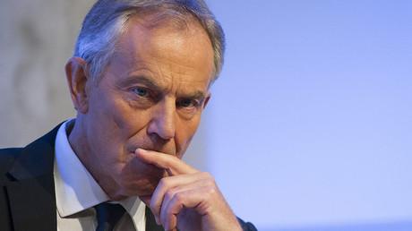 Former British Prime Minister Tony Blair. ©Brendan McDermid