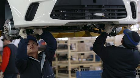 China's economic growth slowest in quarter century