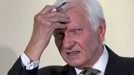 Former Conservative Party politician Harvey Proctor. © Justin Tallis