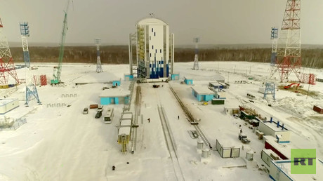 RT EXCLUSIVE: Drone footage of Russia's mighty new Vostochny Cosmodrome (VIDEO)