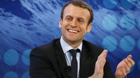 French Economy Minister Emmanuel Macron. © Ruben Sprich