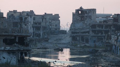 Damaged homes in Benghazi, Libya © Stringer