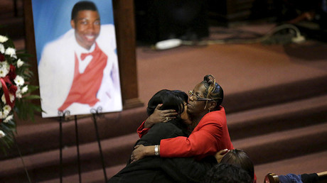 Cop seeks $10mn from family of black teen he killed, claims he's 'traumatized'
