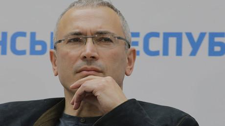 Former head of YUKOS oil company Mikhail Khodorkovsky © Vasily Prokopenko
