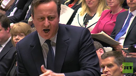 Cameron's 'bunch of migrants' slur against Calais refugees branded 'shameful'