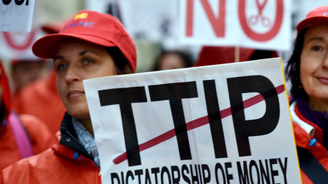 'Corporate power grab:' Govt's refusal to release TTIP documents sparks outrage