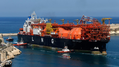 The Offshore LNG regasification terminal © Darrin Zammit Lupi