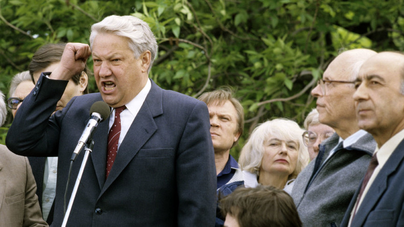 Most Russians see Yeltsin legacy in negative light, poll shows
