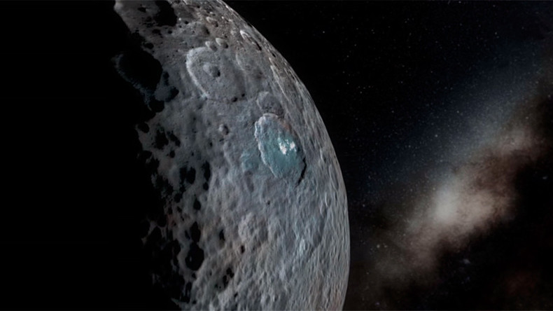 Close encounters: NASA simulates space flight over 'dwarf planet' Ceres (VIDEO)