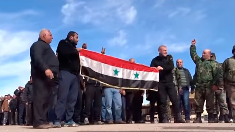 'Defending motherland with own hands': Syrian volunteer troops train to fight ISIS in Daraa