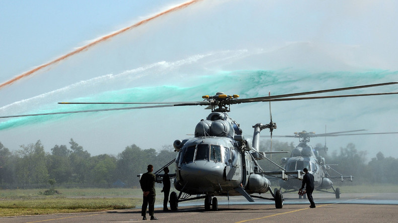 Russia completes delivery of military helicopters to India