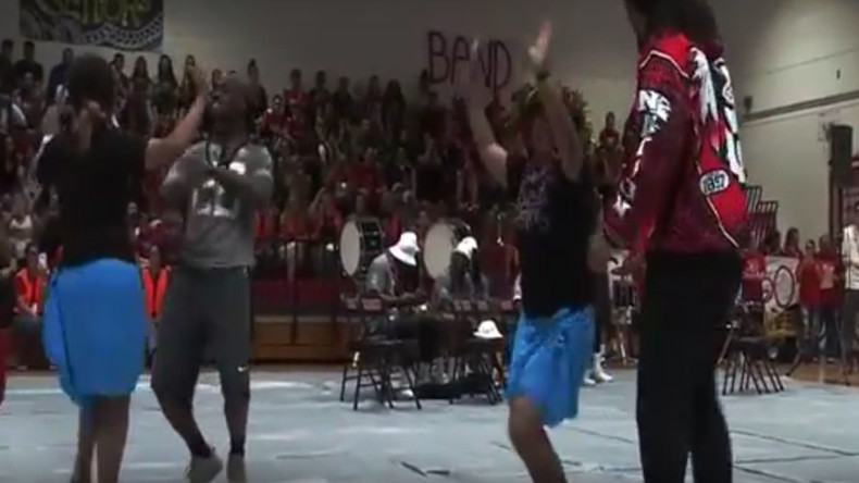 NFL Pro-Bowlers just can't dance