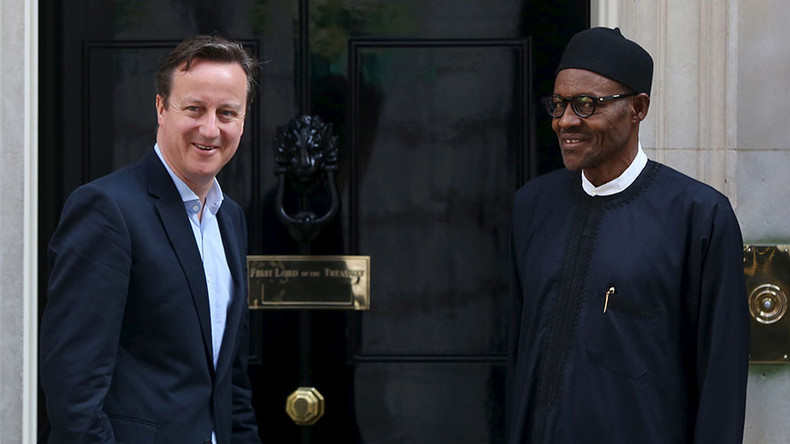Challenge Nigerian president on war crimes, Cameron told